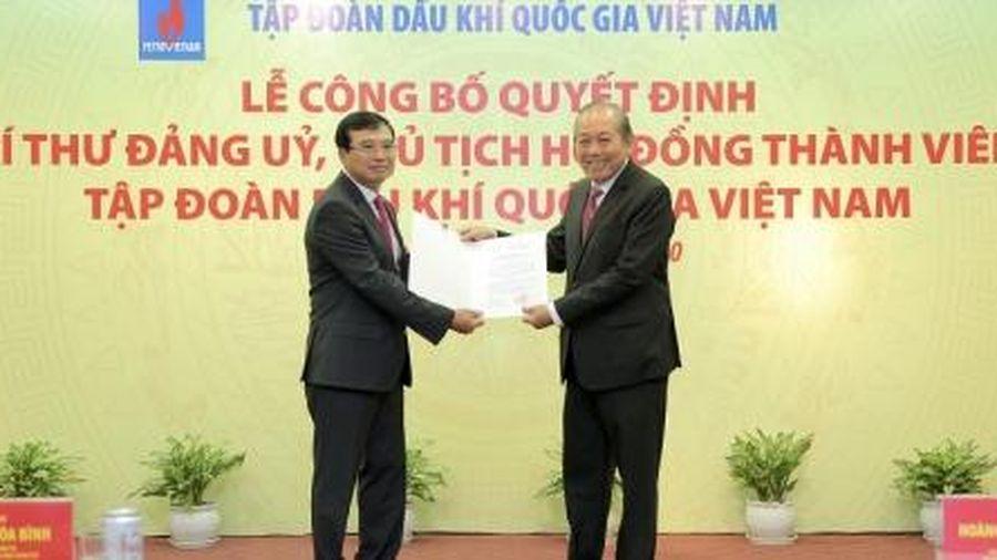 Trao quyết định Chủ tịch HĐTV Tập đoàn Dầu khí Việt Nam