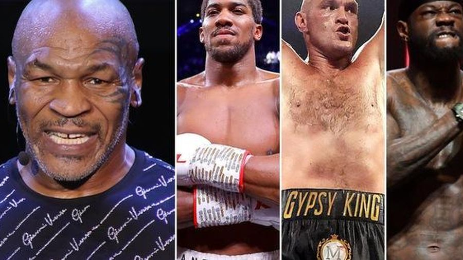 Sau trận đại chiến với Roy Jones, 'Tay đấm thép' Mike Tyson tình chạm trán cùng Anthony Joshua, Tyson Fury và Deontay Wilder
