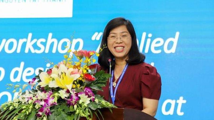 Nữ Tiến sĩ trở thành tân Hiệu trưởng trường ĐH Nguyễn Tất Thành