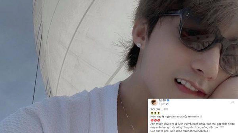 Sơn Tùng M-TP viết tâm thư 'kẹo ngọt' gửi đến fandom SKY nhân ngày đặc biệt