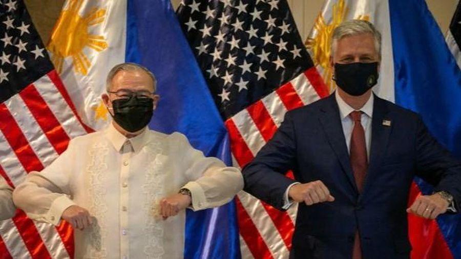 Mỹ luôn sát cánh cùng Philippines trong việc bảo vệ các quyền lợi ở Biển Đông