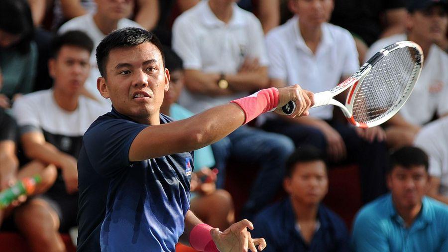 Hoàng Nam khởi đầu ấn tượng ở giải quần vợt VTF Masters 500