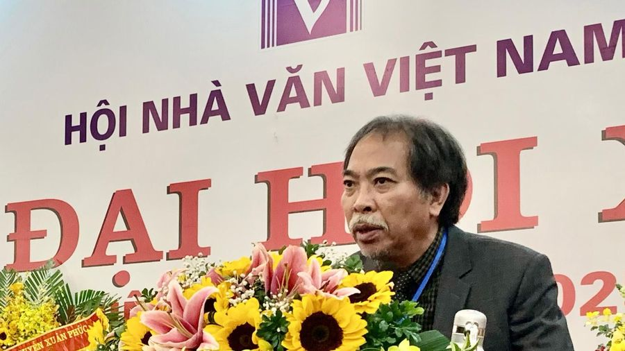 Chủ tịch Hội Nhà văn Việt Nam: 'Chúng ta cần tìm cách đổi mới'