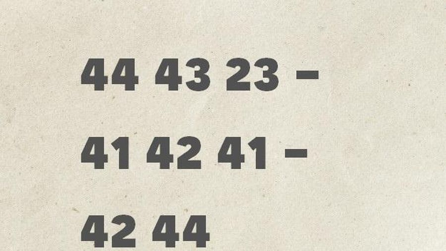 Đáp án câu đố tìm hung thủ nhờ mật mã bí ẩn