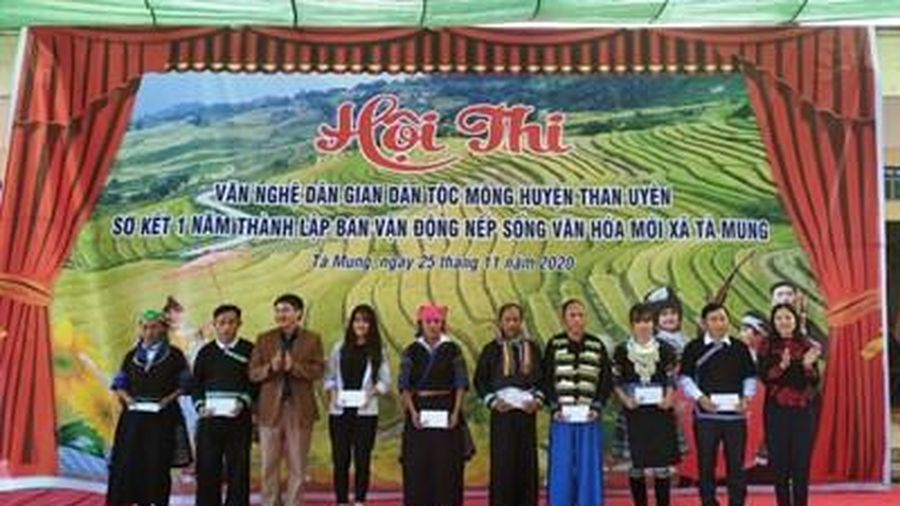 Góp phần bảo tồn, phát huy văn nghệ dân gian dân tộc Mông