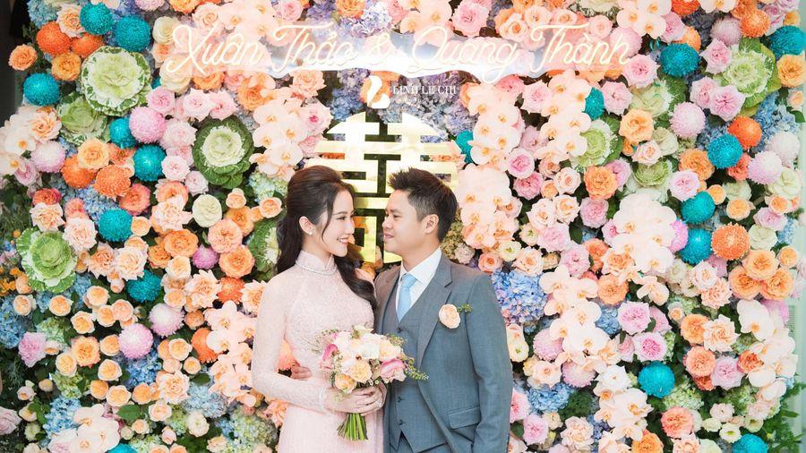 Bộ ảnh đám hỏi đẹp như mơ của thiếu gia Phan Thanh và Primmy Trương