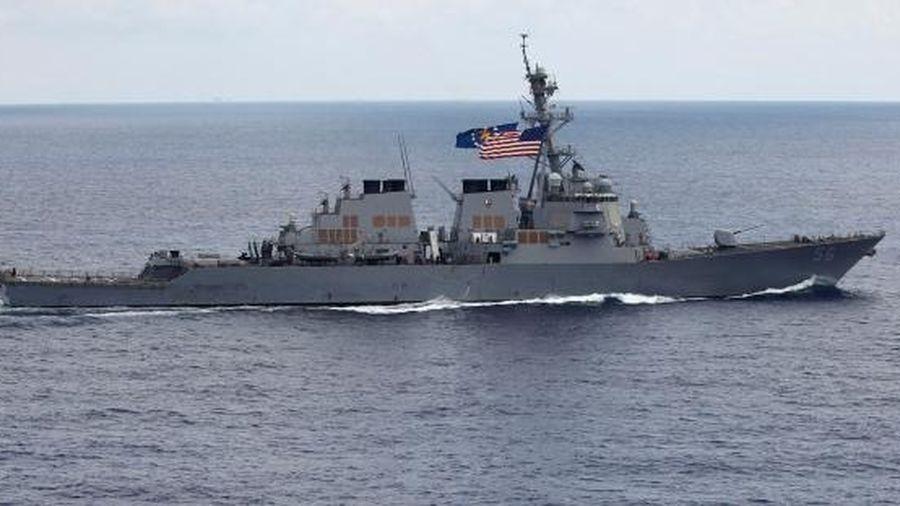 Tàu chiến Mỹ 'dám' thăm dò thành trì của hạm đội Nga trên biển Thái Bình Dương