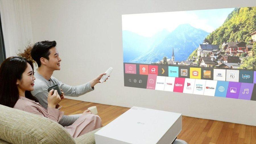 LG ra mắt máy chiếu 4K mới: tự động chỉnh khung hình méo, tối ưu độ sáng