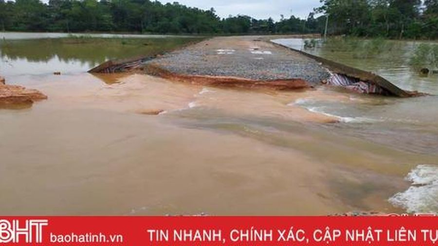 Hà Tĩnh sẽ được Chính phủ hỗ trợ 50 tỷ đồng khắc phục hậu quả mưa lũ