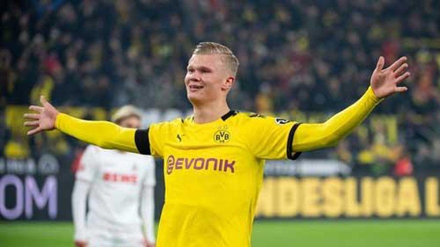 Dortmund và Lazio cùng thắng, Haaland lập kỳ tích ở Champions League