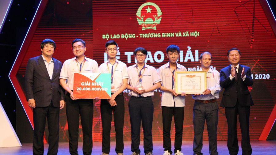Trao giải Cuộc thi 'Ý tưởng khởi nghiệp học sinh, sinh viên giáo dục nghề nghiệp 2020 - Startup Kite'