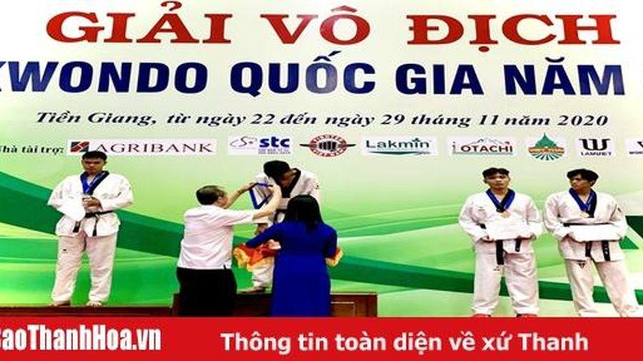 Thanh Hóa tham dự Giải vô địch Taekwondo quốc gia năm 2020