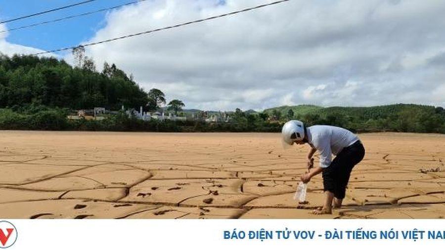 Ruộng nương bị bồi lấp, nông dân Quảng Bình không thể gieo trồng