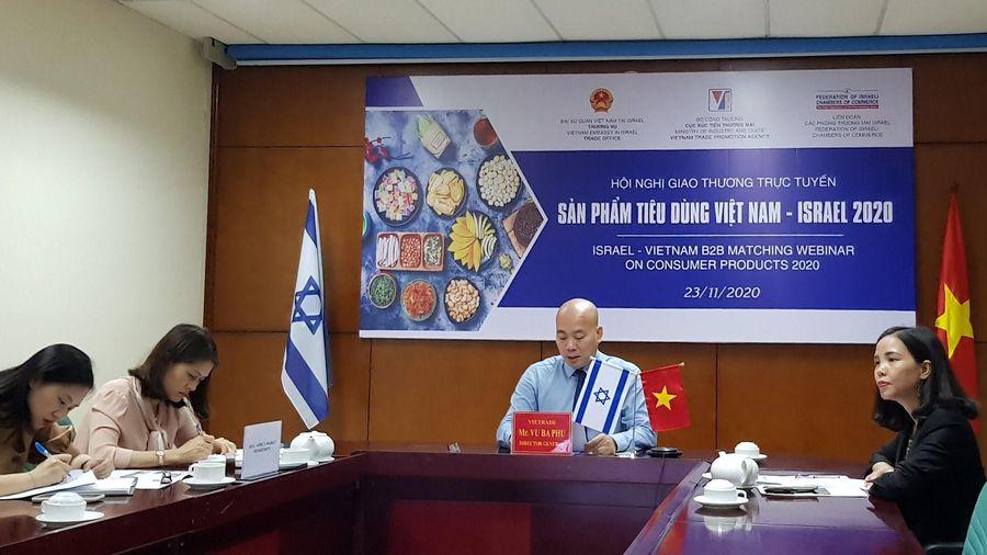 Doanh nghiệp Israel quan tâm nhập khẩu nhiều mặt hàng tiêu dùng của Việt Nam