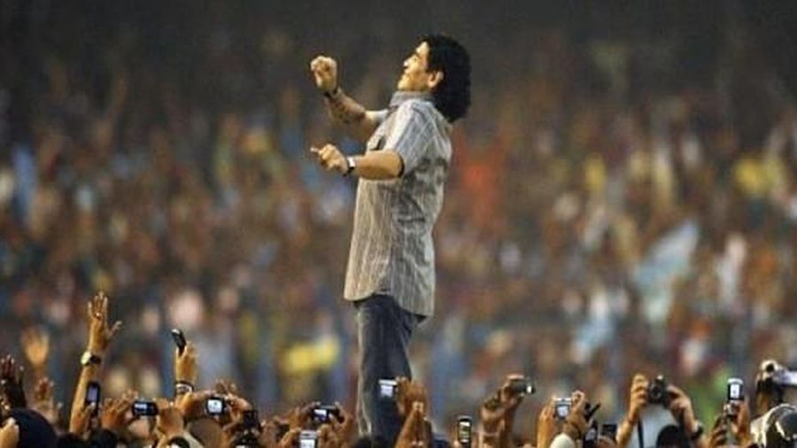 Diego Maradona và lời tiên tri định mệnh về một huyền thoại vĩ đại