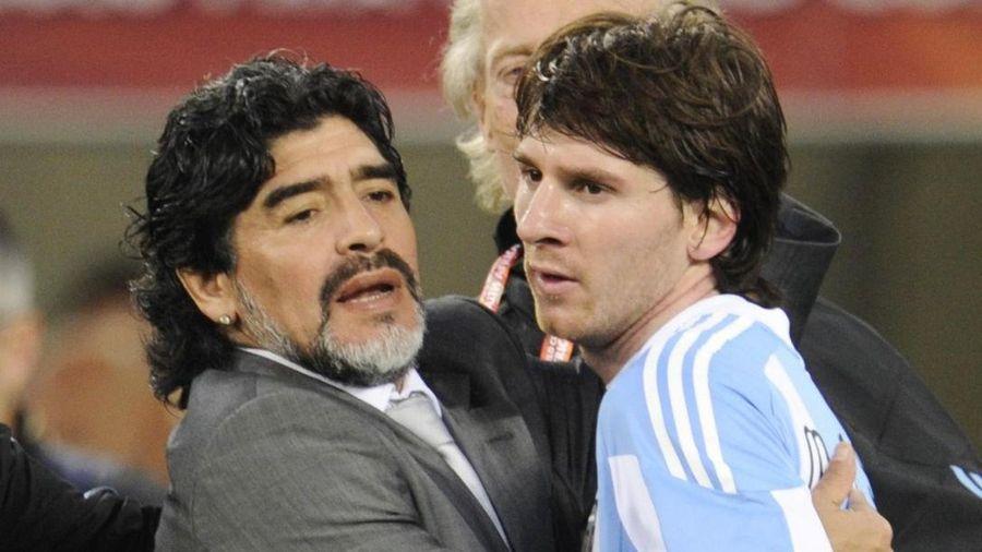 Messi: 'Maradona là biểu tượng vĩnh cửu'