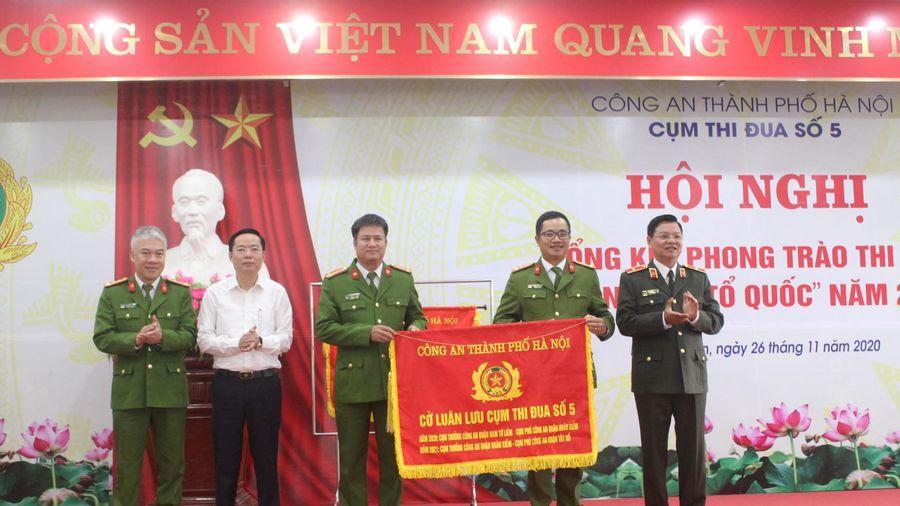 Đi đầu trong phong trào thi đua của Công an thành phố Hà Nội