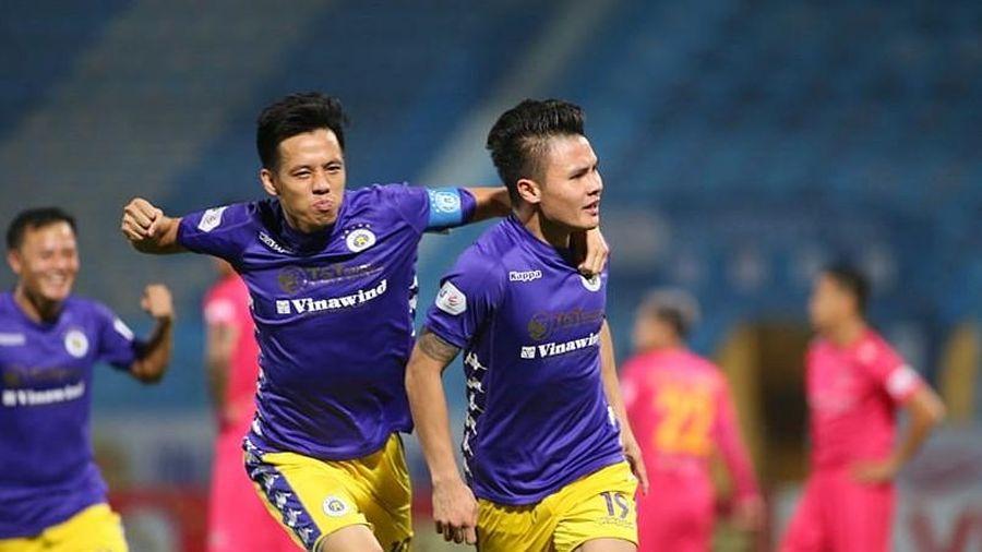 Hà Nội FC suýt tự phá kỷ lục góp quân cho ĐT Việt Nam