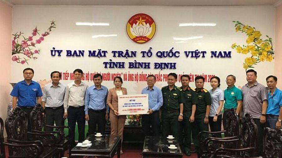 Bình Định: Phân bổ nguồn hỗ trợ đồng bào các tỉnh bị bão, lũ năm 2020