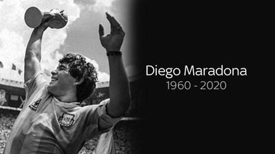 Maradona, mãi mãi trong ngôi đền của những huyền thoại!