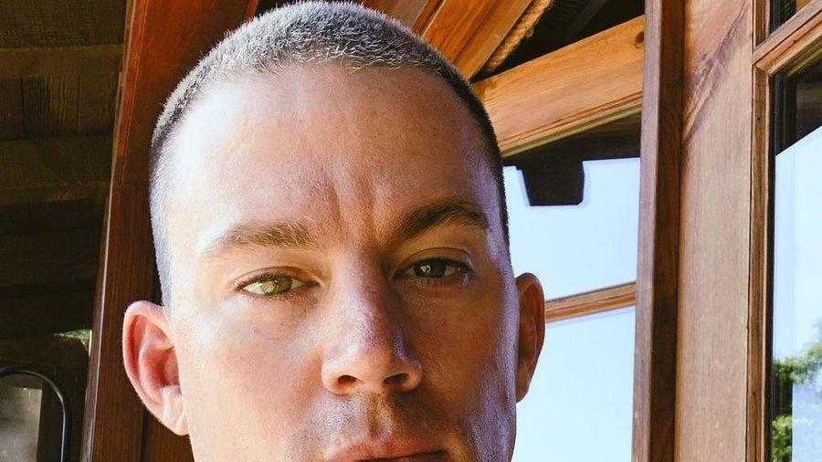 Channing Tatum thường cạo trọc đầu mỗi khi đóng xong phim