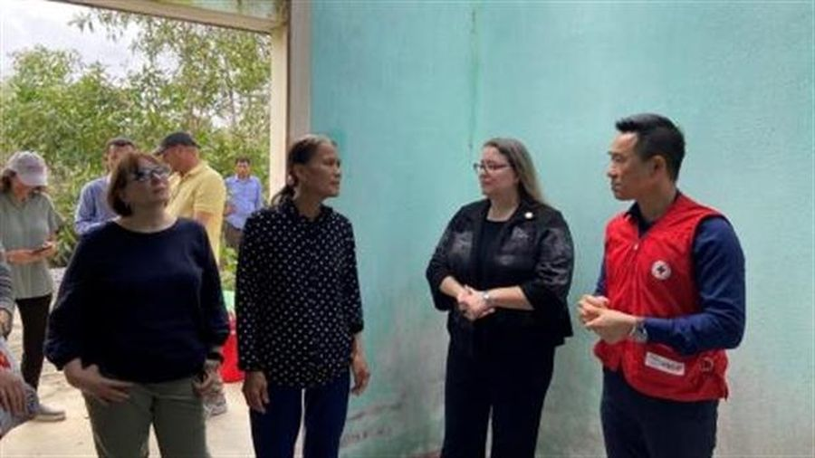 25 năm Việt-Mỹ: Tổng Lãnh sự Mỹ thăm Đà Nẵng, Quảng Nam