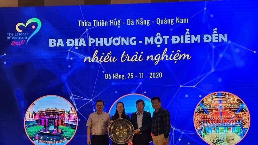 3 tỉnh miền Trung liên kết kích cầu du lịch