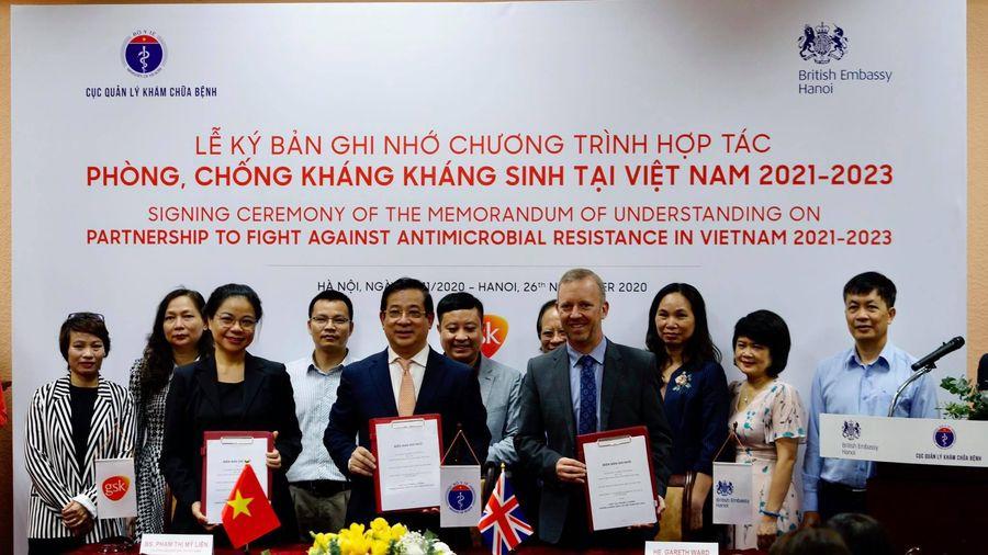 Bộ Y tế, Đại sứ quán Anh và GSK hợp tác chống kháng kháng sinh