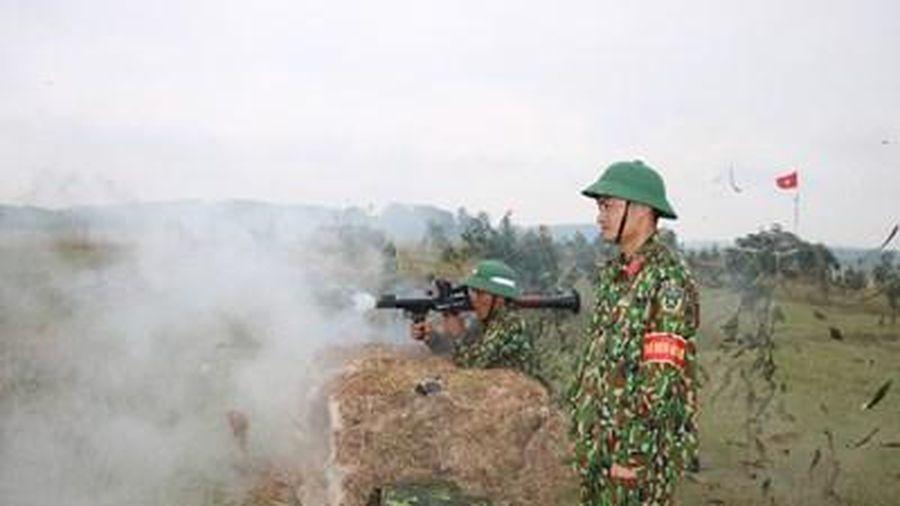 Sư đoàn 324 diễn tập bắn đạn thật