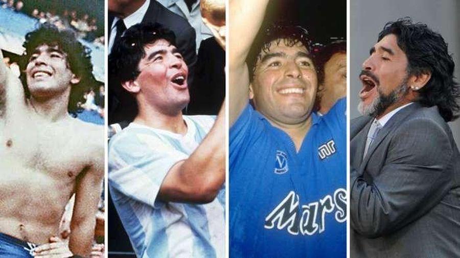 Những cột mốc đáng nhớ trong sự nghiệp 'quần đùi áo số' của Maradona