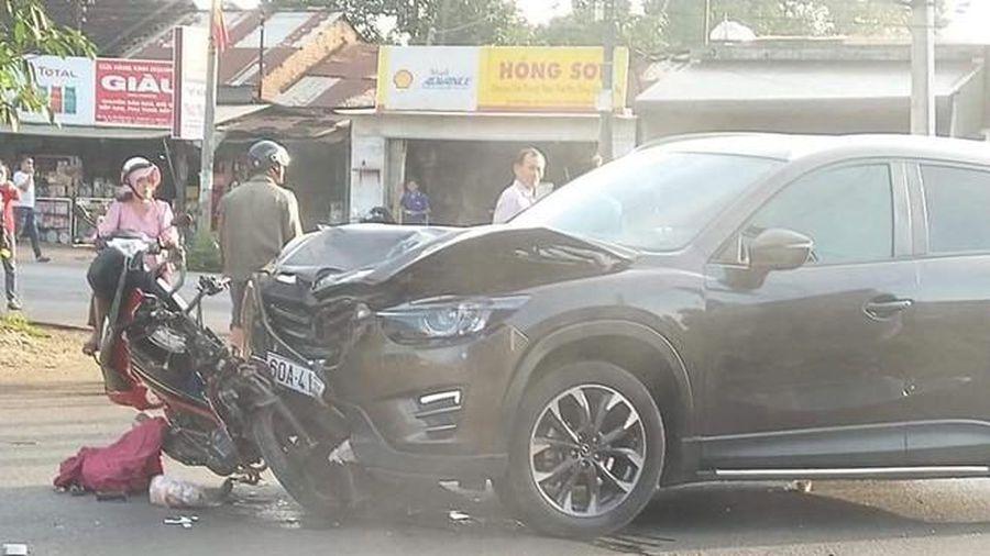 Vụ nữ sinh 16 tuổi tử vong sau tai nạn: Xe máy bị kéo lê hơn 10 mét