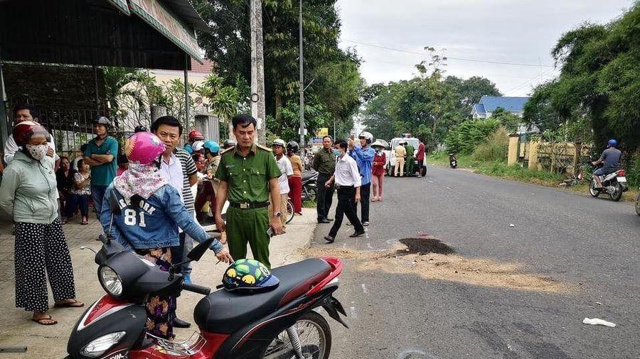 Tai nạn giao thông, hai nữ sinh lớp 10 thiệt mạng