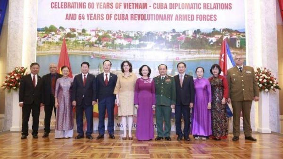 Lãnh đạo Bộ Ngoại giao dự Lễ kỷ niệm 60 năm thiết lập quan hệ ngoại giao Việt Nam-Cuba