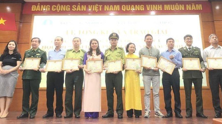 Tổng kết và trao giải Cuộc thi 'Rừng là cuộc sống của tôi'