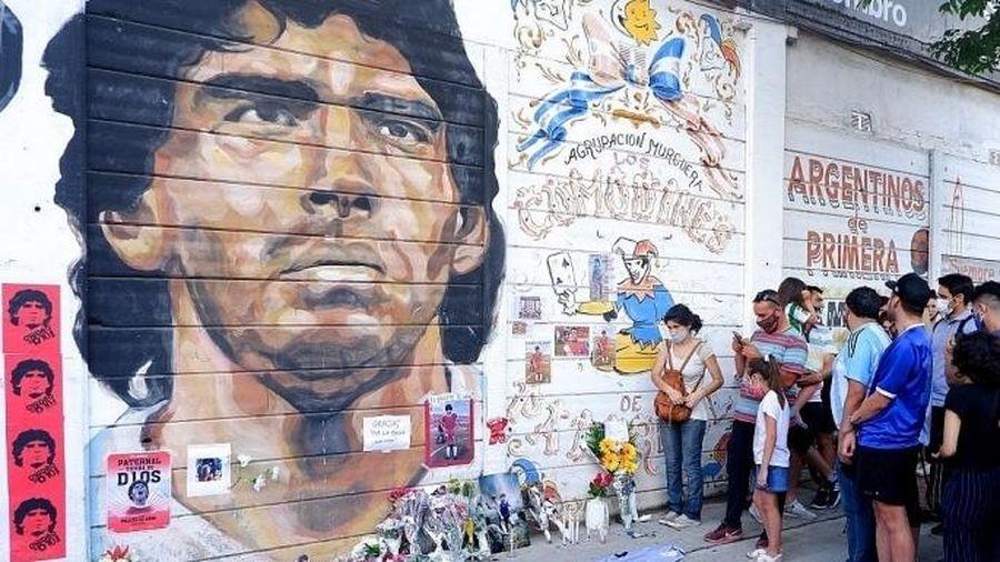 Argentina quốc tang 3 ngày để tưởng nhớ Diego Maradona