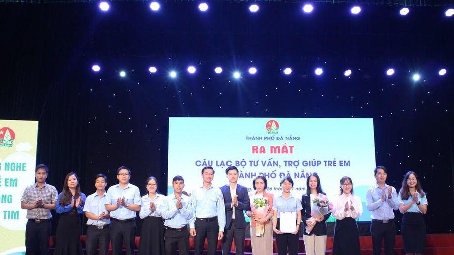 Ra mắt CLB tư vấn, trợ giúp trẻ em TP Đà Nẵng