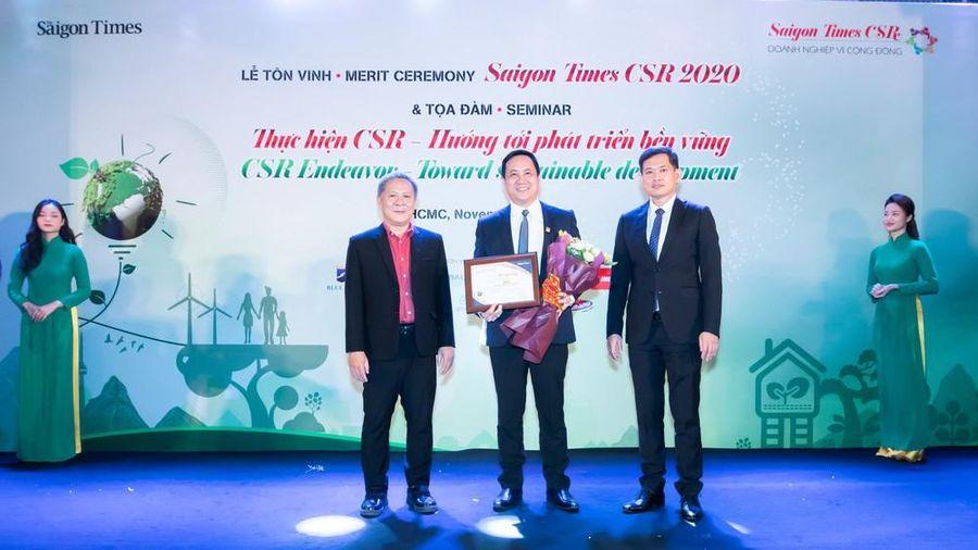 Vinh danh Nam A Bank là 'doanh nghiệp vì cộng đồng'