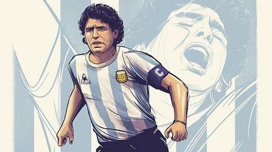 Sự nghiệp lẫy lừng của huyền thoại Diego Maradona