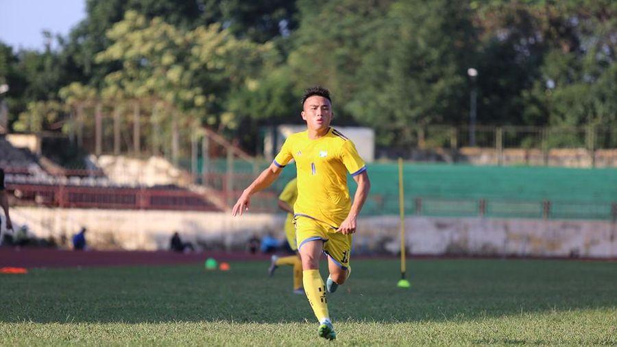 Sao trẻ V.League lập công, U21 SLNA thắng đậm Tây Ninh