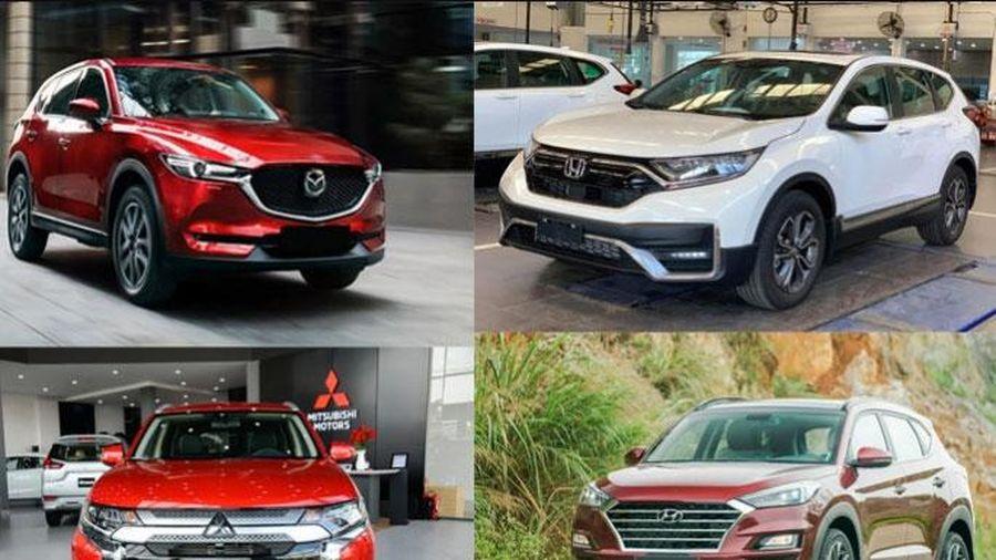 Phân khúc CUV tháng 10/2020: Hyundai Tucson 'rượt đuổi' Mazda CX-5