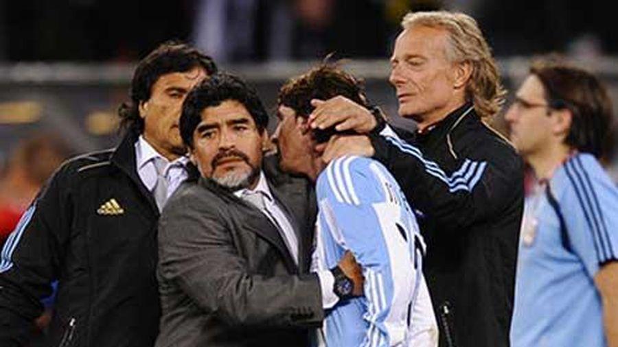 Messi khẳng định Maradona là 'vĩnh cửu'