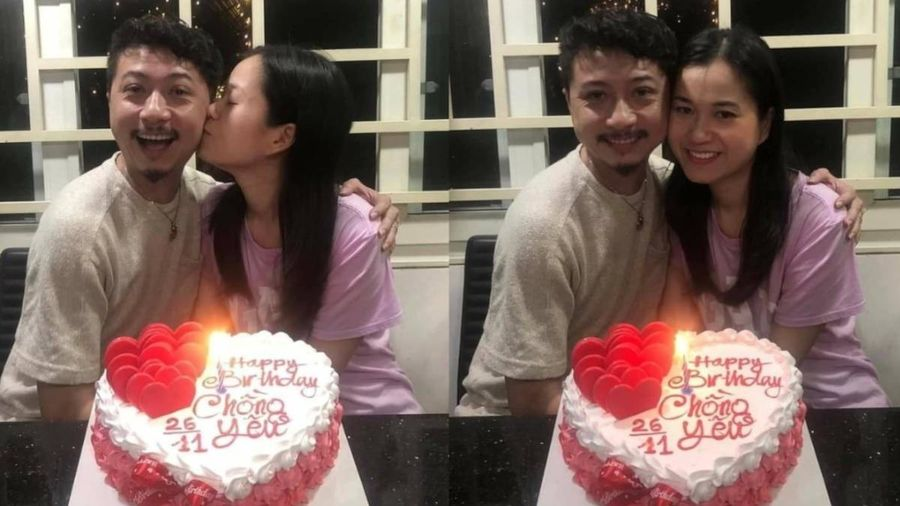 Mặc sóng gió với anti-fan, Lâm Vỹ Dạ giản dị đón sinh nhật ông xã bước sang tuổi 38