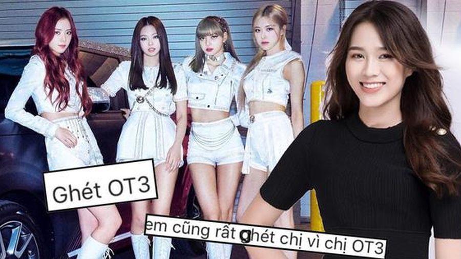 Hoa hậu Việt Nam Đỗ Thị Hà bất ngờ bị fan BLACKPINK 'tấn công'