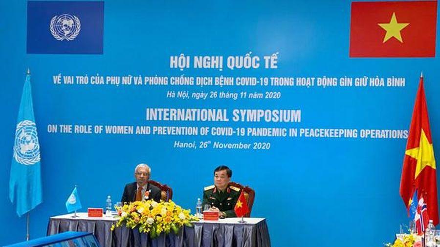 Thúc đẩy vai trò của phụ nữ trong hoạt động gìn giữ hòa bình