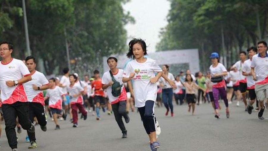 Chạy trực tuyến gây quỹ mổ tim cho trẻ em nghèo