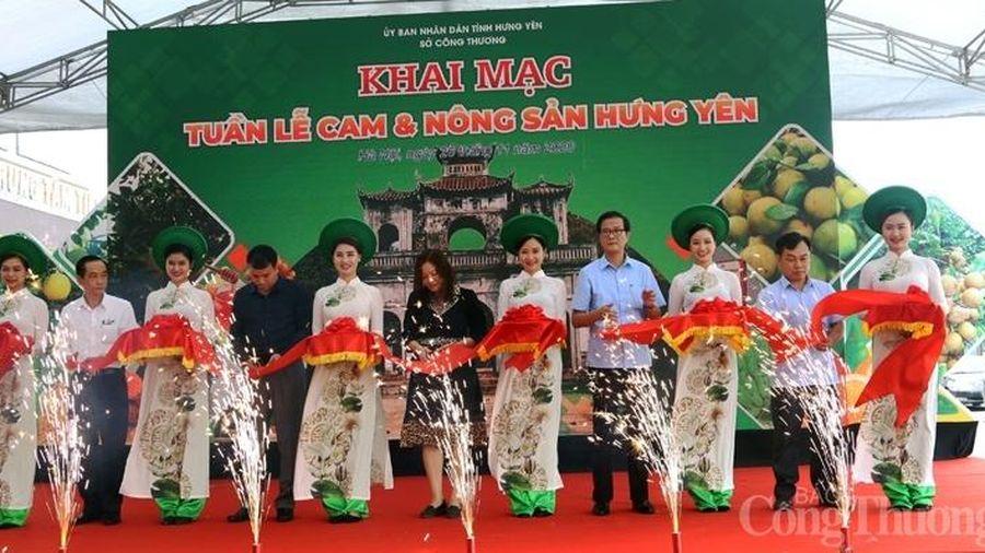 Khai mạc Tuần lễ cam và nông sản Hưng Yên năm 2020 tại Hà Nội