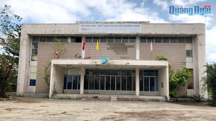Trung tâm Văn hóa Nghệ thuật tỉnh: Nhiều khó khăn cần tháo gỡ