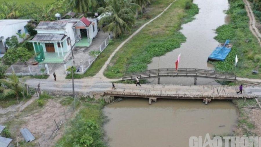Khởi công xây dựng cầu Đại Sư do Báo Giao thông tài trợ