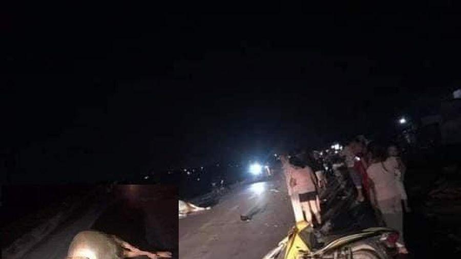 Tai nạn giao thông sáng 26/11: Đâm vào bò, người đi xe máy ở Quảng Trị tử vong tại chỗ