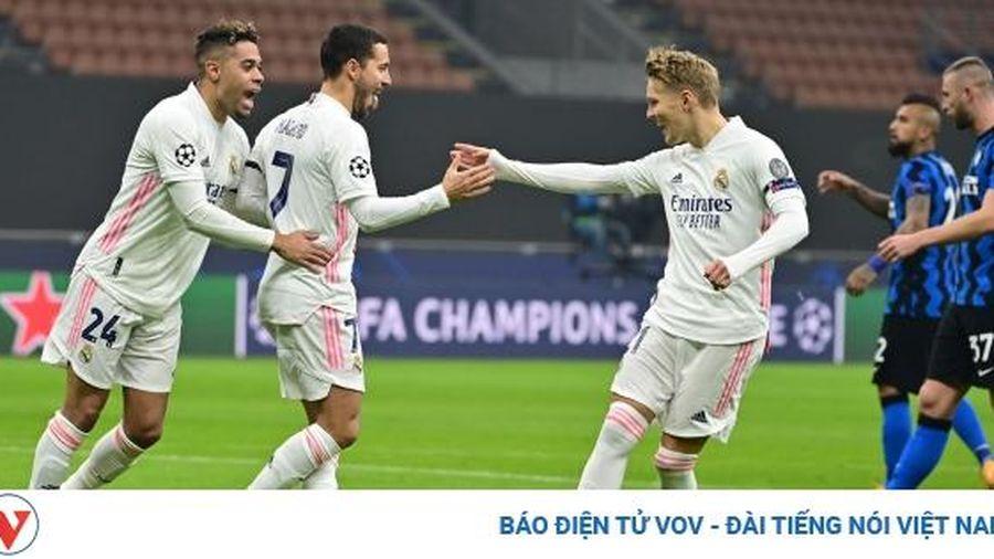 Arturo Vidal nhận thẻ đỏ lãng xẹt, Inter Milan thua thảm Real Madrid